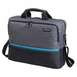 "Sacoche Pc Portable 15.6"" PROMATE - Gris"