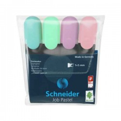 Pochette 4 Fluo Pastel Schneider-Job 150