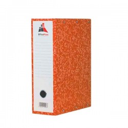 Boite d'archives Cartonnée Marbrées OfficePlast 10 cm - Orange