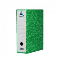 Boite d'archives Cartonnée Marbrées OfficePlast 10 cm - Vert