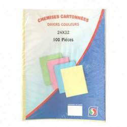 Chemises Cartonnées Standart-100pcs