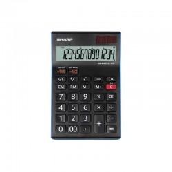 Calculatrice de Bureau SHARP EL-145T 14 Chiffres Noir