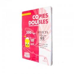 Doubles feuilles GM 200p SELECTA perforées