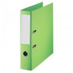 Classeur à levier Vert Clair Dos 75mm A4 -OfficePlast PLASTIPAP