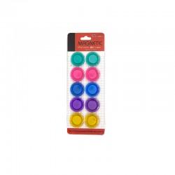 Aimants Coloris petit modèle-10 piéces