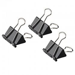 Attaches-clips Noir 24 Piéces 32 mm