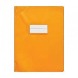 Protège cahier - 17 x 22 cm - Orangé