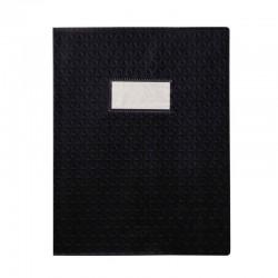 Protège cahier - 17 x 22 cm - Noir