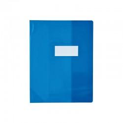 Protège cahier - 17 x 22 cm - Bleu