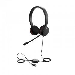 Casque Jabra Evolve 20 Stereo / Mono avec micro anti-bruit