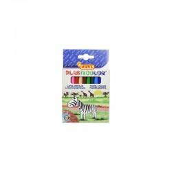 Crayons Plastique - 12 Couleurs GM Jovi