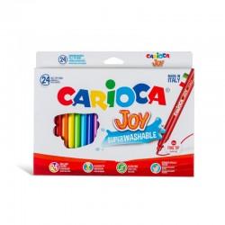 Feutres Carioca Joy 24 couleurs -2.6 mm