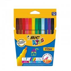 Feutres BIC Kids Visa de coloriage x 12