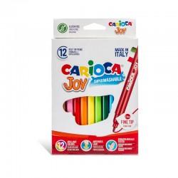 Feutres Carioca Joy 12 couleurs -6 mm