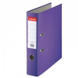 Classeur à levier Dos 75mm Esselte-Violet