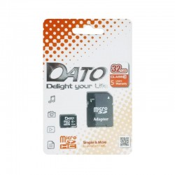 Carte mémoire Micro SD Dato 32Go + Adaptateur
