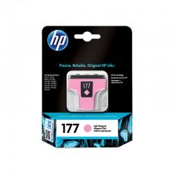 Cartouche jet d'encre d'origine magenta clair HP 177