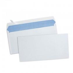 Paquet de 500 Enveloppes Blanches 110x220 mm 80 g/m²