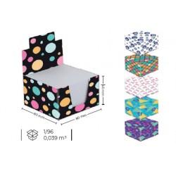 Cube En Papier Blanc 3A