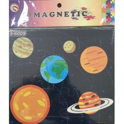 PUZZLE MAGNETIQUE 12PIECES S-6009