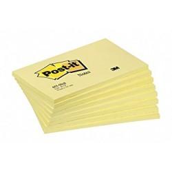 Stick Note 76/127 Pastel 100 Feuilles Jaune