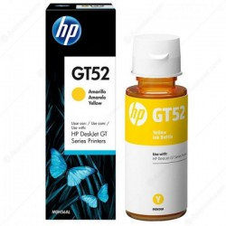 Bouteille D'encre Original HP GT52 Jaune