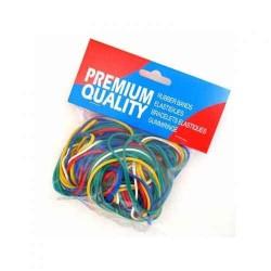 Bracelets couleur assorties - Sachet de 100 gr