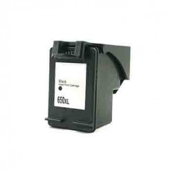 Cartouche d'encre HP 650XL-Noir