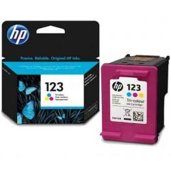 Cartouche d'Encre HP 123 Trois-couleurs