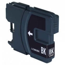 Cartouche Adaptable Brother LC980-Noir