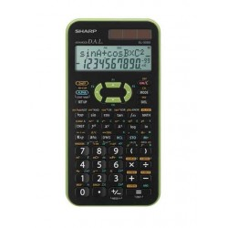 Calculatrice SHARP EL-506X Vert