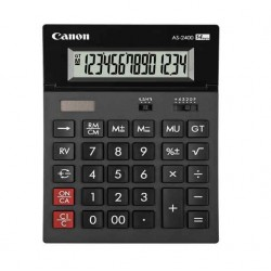 Calculatrice De Bureau Canon As-2400-14 Chiffres