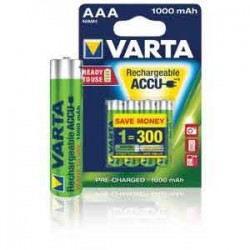 4x Piles VARTA Rechargeable AAA-HR3