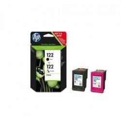 Pack HP 122 deux Cartouches d'encre noir et couleurs Originale