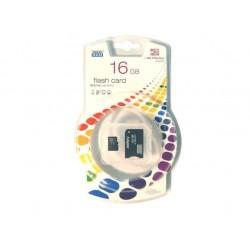 Carte MicroSD 16Gb + Adaptateur MS Pro Duo-Goodram