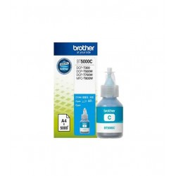 Bouteille D'encre BROTHER Original BT-5000 Cyan