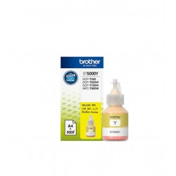 Bouteille D'encre BROTHER Original BT-5000 Jaune