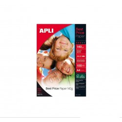 Papier Photo APLI Brillant Face Best Price A4 140 g/m²