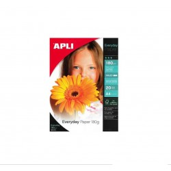 Papier Photo APLI Brillant A4-100 feuilles 180 g/m²