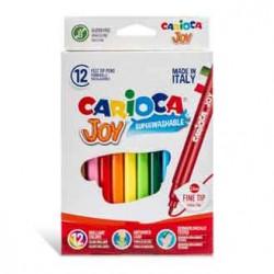 Feutres Carioca Joy 12 couleurs -2.6 mm