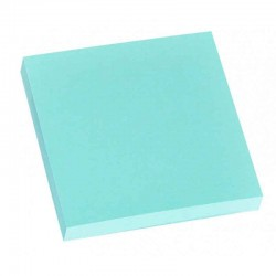 Stick Note 76/76 Pastel 100 Feuilles Bleu
