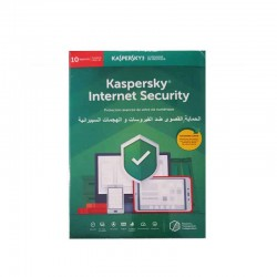 Antivirus KASPERSKY Internet Security-10Pc /1 An