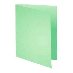 Chemises Cartonnées Luxe Vert Bristol-100pcs