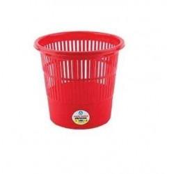 Ark Corbeille à papier (11 litres) -Rouge