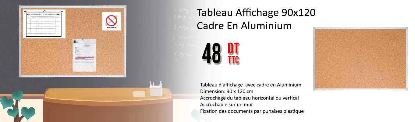 Tableau Affichage Cadre En Aluminium 90x120